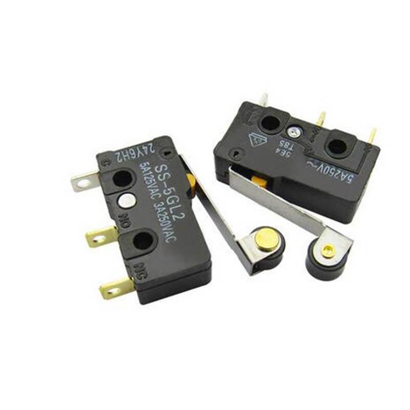 Бесплатная доставка 2 шт. SS-5GL2 микропереключатель свяжитесь с переключатель 3 Контакты swtich 5A 125 В AC/3A 250 В AC ...