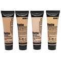 MISS ROSE Brand Bronzer Makeup Base Face + Silicone Puffs Liquid Foundation BB Cream Concealer Whitening Contour Palette Primer