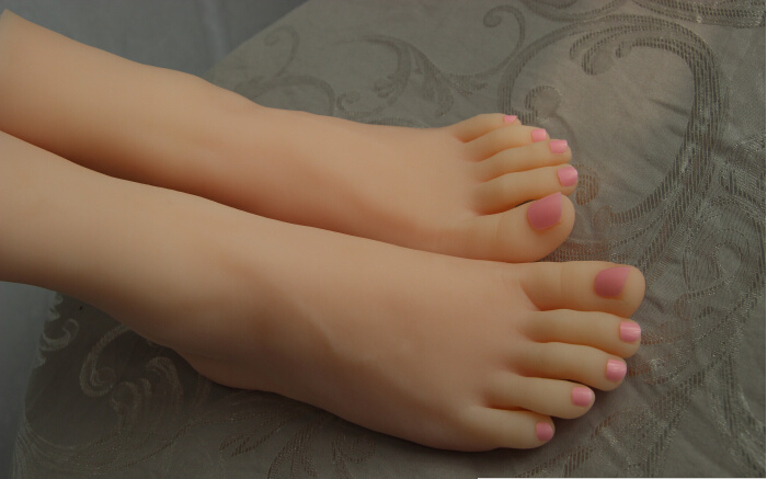 Buy Foot fetish toys/silicone feet sex toy/silicone sex dolls/women foot model/feet fetish/ sex fetish/women silicone/toy skeleton