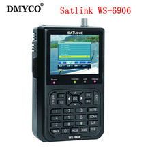 "Satlink WS-6906 3.5 ""DVB-S FTA numérique satellite satFinder mètre satellite finder LCD Sat Finder ws 6906 satlink ws6906 PK V8"