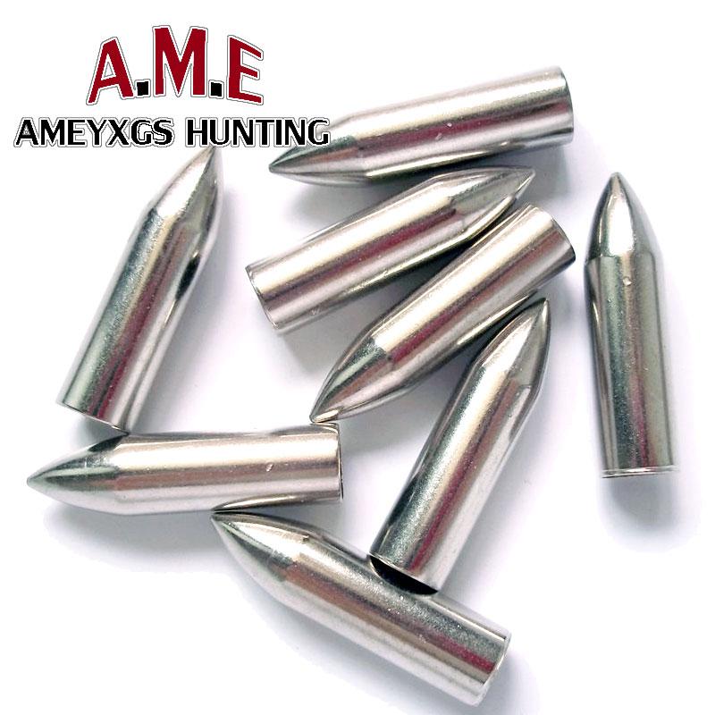 30 Pcs/lot Steel Shooting Arrow heads target Archery Broadheads hunting Arrowhead 75 Grains Arrow Points pontas de flecha