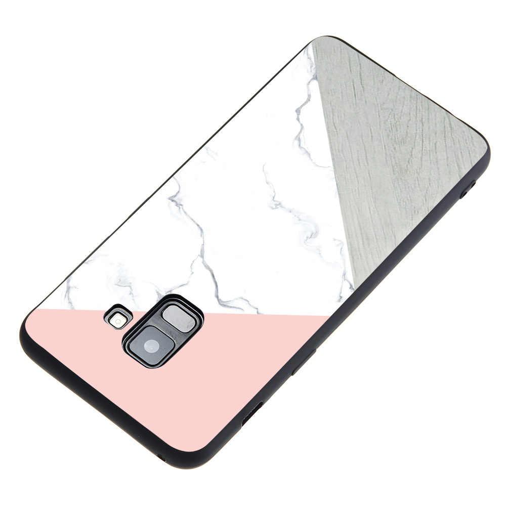 Do Samsung uwaga 9 uwaga 8 luksusowe etui telefoniczne dla Samsung A3 A5 A7 2017 A5 A7 A6 A8 Plus J7 2018 miękkie przypadku okładki Coque Fundas