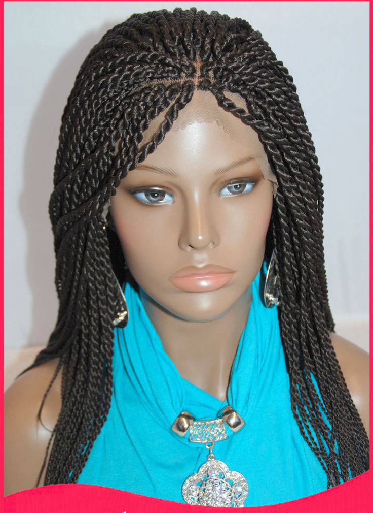 full braided lace front wigs
