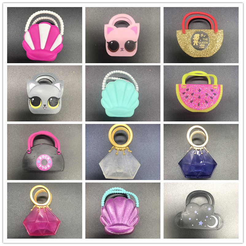 original lols dolls luxury bags hats Kitty queen accessories toys for lols dolls collection DIY Toy in Dolls from Toys Hobbies