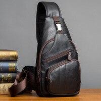 Korean Version Of The New Men's Breast Bag Recreational Waistpack Single Shoulder Men's Bag Oblique Bag