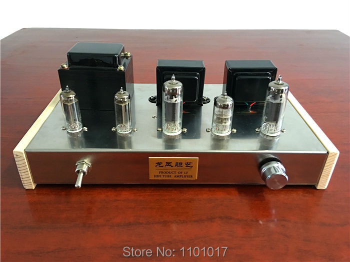 LF 6N2 6P1 Tube Amplifier Double 6Z4 rectifier HIFI EXQUIS Handmade Finished lamp amp (LF Dragon & Phenix ) raphaelite 120w pre amp power transformer for tube amplifier rectifier
