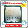 Оригинал для Intel Core i3 3220 Процессор 3.3 ГГц/3 МБ Кэш/Dual Core/Socket LGA 1155/Qual Core/Desktop I3-3220 ПРОЦЕССОР
