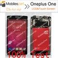 Oneplus One Экран 100% Оригинальный ЖК-Экран + Сенсорный Экран Замена Тяга Для Oneplus One Мобильного Телефона