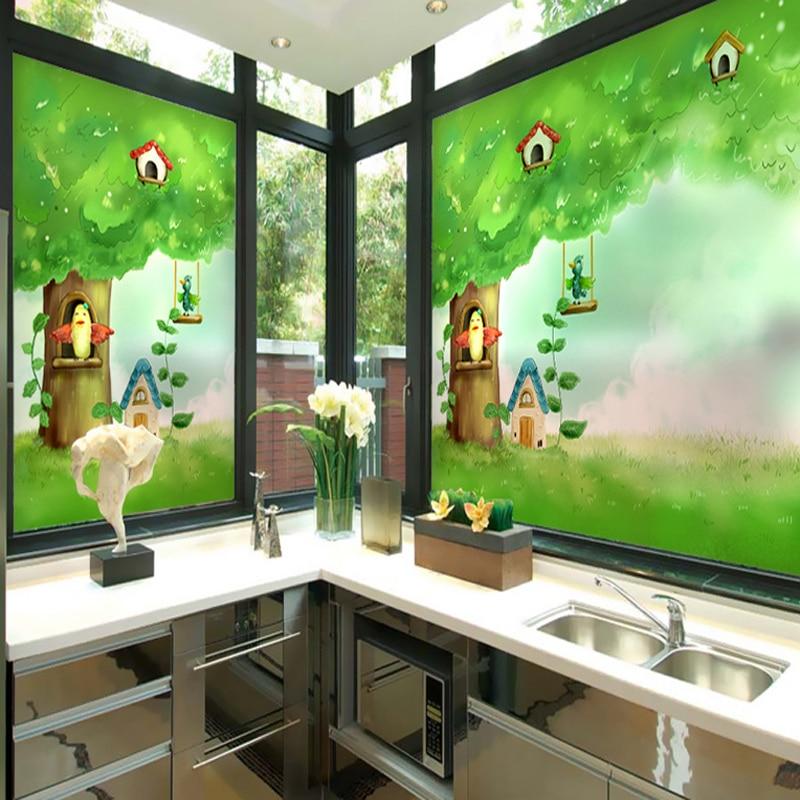 Autocollants Fenêtre Balcon Rebord De Fenêtre Cuisine Chambre