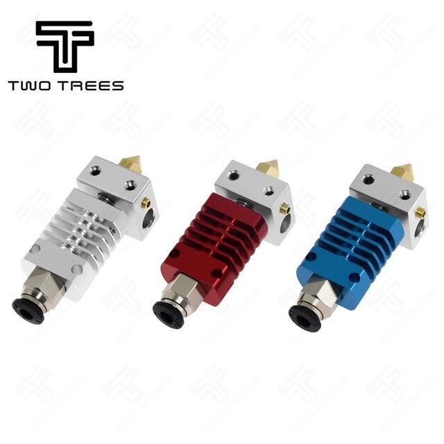 Dos árboles 3D CR8 salida Hotend extrusora de larga distancia V6 de J-Cabeza de calor térmico romper la garganta 1,75mm CR10 pieza de Reprap de impresora 3D