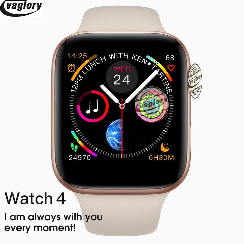 IWO8 Smartwatch chargeur sans fil en alliage d'aluminium boîtier mat MTK2502C montre intelligente rouge frontière couronne pour Iphone android téléphone