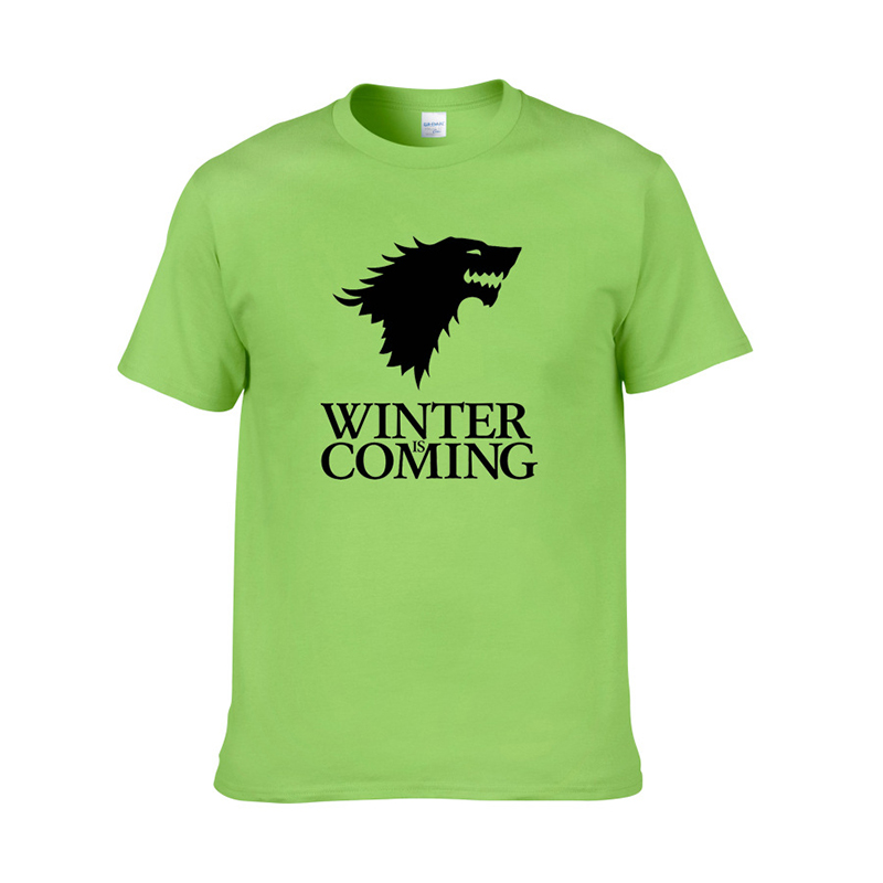 2019 summer Game of Thrones Letter Print T Shirt Women Things Man Cotton Slim Fit basic Tops Short Sleeve WhiteTunic New clothes in T Shirts from Women 39 s Clothing