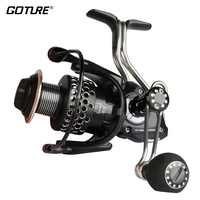 Goture China High Quality Iron Man 3000 4000 Series Spinning Reel Fishing Reel All Metal Materials