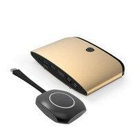 Беспроводной передачи Экран Displayer адаптер Поддержка 720 P/1080 P/2 К/4 К Miracast DLNA все доля Литых конференции Системы