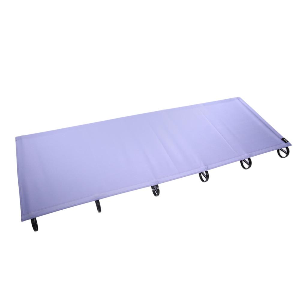 66cm width Outdoor Ultralight Travel Portable Aluminium alloy Folding Camping Mat Bed Hot Sale