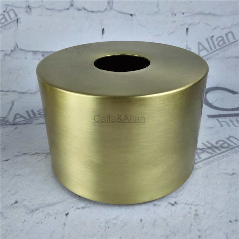 Free ship M40mm D100mm/D120mm brass material light cover copper cup shade quality E27 lamp shade cover lighting brass shade cone