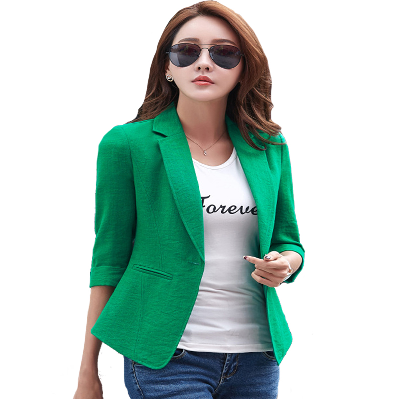 Aliexpress.com  Buy 3XL Ladies Blazers Jackets New Arrival 2017 OL Formal Korean Small Suit ...