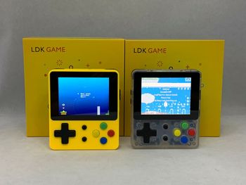 Mini Handheld Game Console LDK Game 2.6inch Screen  Nostalgic Children Retro Game Mini Family TV Video Consoles