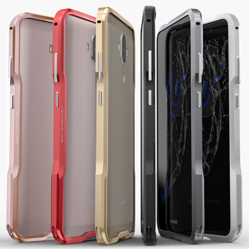Huawei Mate 9 Case Original Luphie Luxury Aluminum Frame For Huawei Mate 9 Mate9 CNC Cutting Metal Bumper Cover Phone Cases