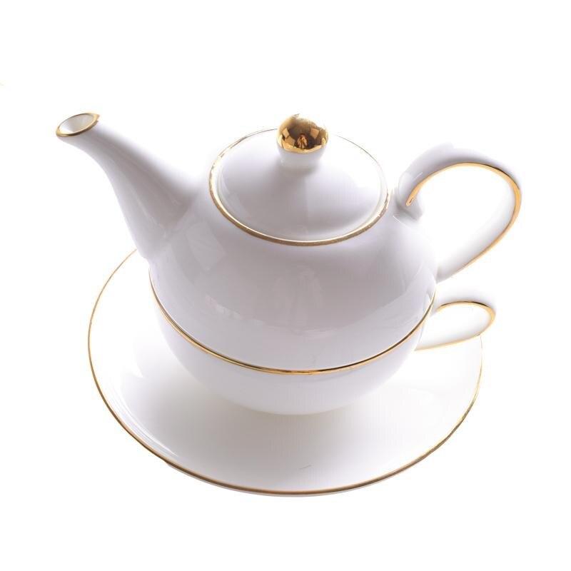 Style européen et américain après-midi thé tasse à café en céramique haute qualité théière/costume/tasse à café en porcelaine osseuse et soucoupe
