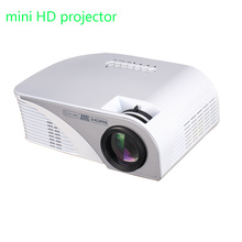 Newest LED Projector 2200 Lumens HD Projector For Home Theater Laptop AV/VGA/HDMI/USB/ Support 1080P Projector
