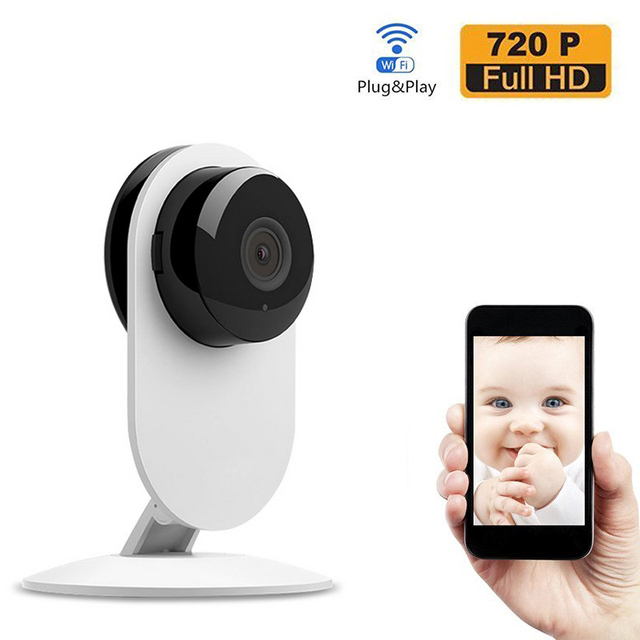 New Arrival Wireless Wifi Baby Monitor Video 720P IP Camera Baby Electronic support Night Vision TF slot for iPhone Android PC