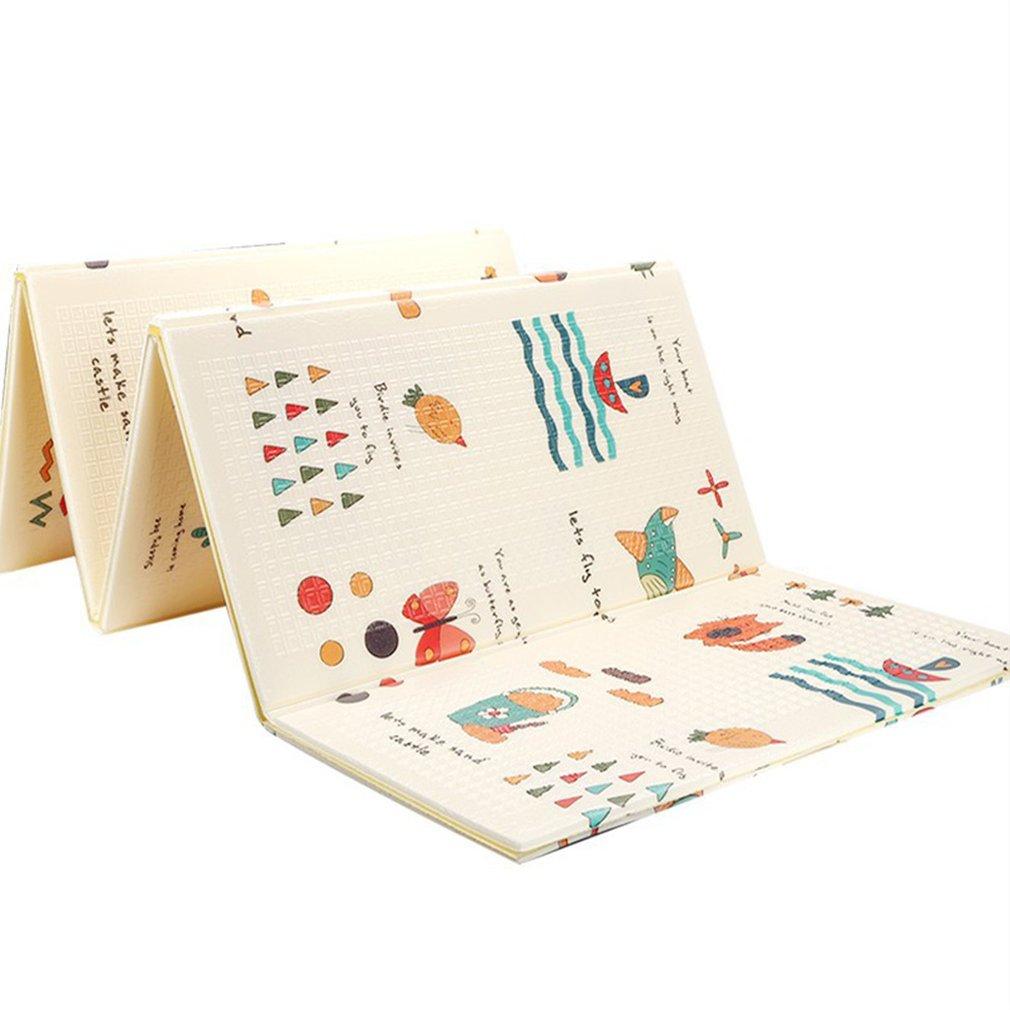 Game-Blanket Play-Mat Crawling-Pad Baby-Carpet Puzzle Children's-Mat Foldable Climbing
