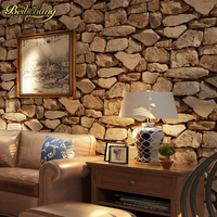 Beibehang Papel De Parede 3D Antique Stone Wallpaper For Living Room Backdrop Wall Covering Wallpaper For