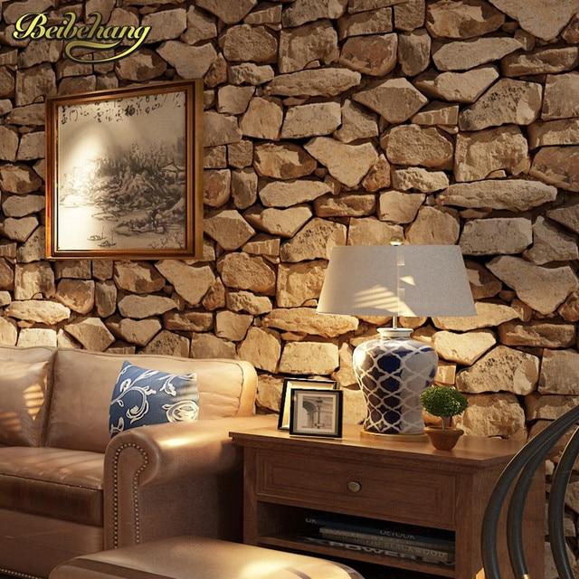 Online Shop Beibehang papel de parede 3D pietra Antica Carta Da ...