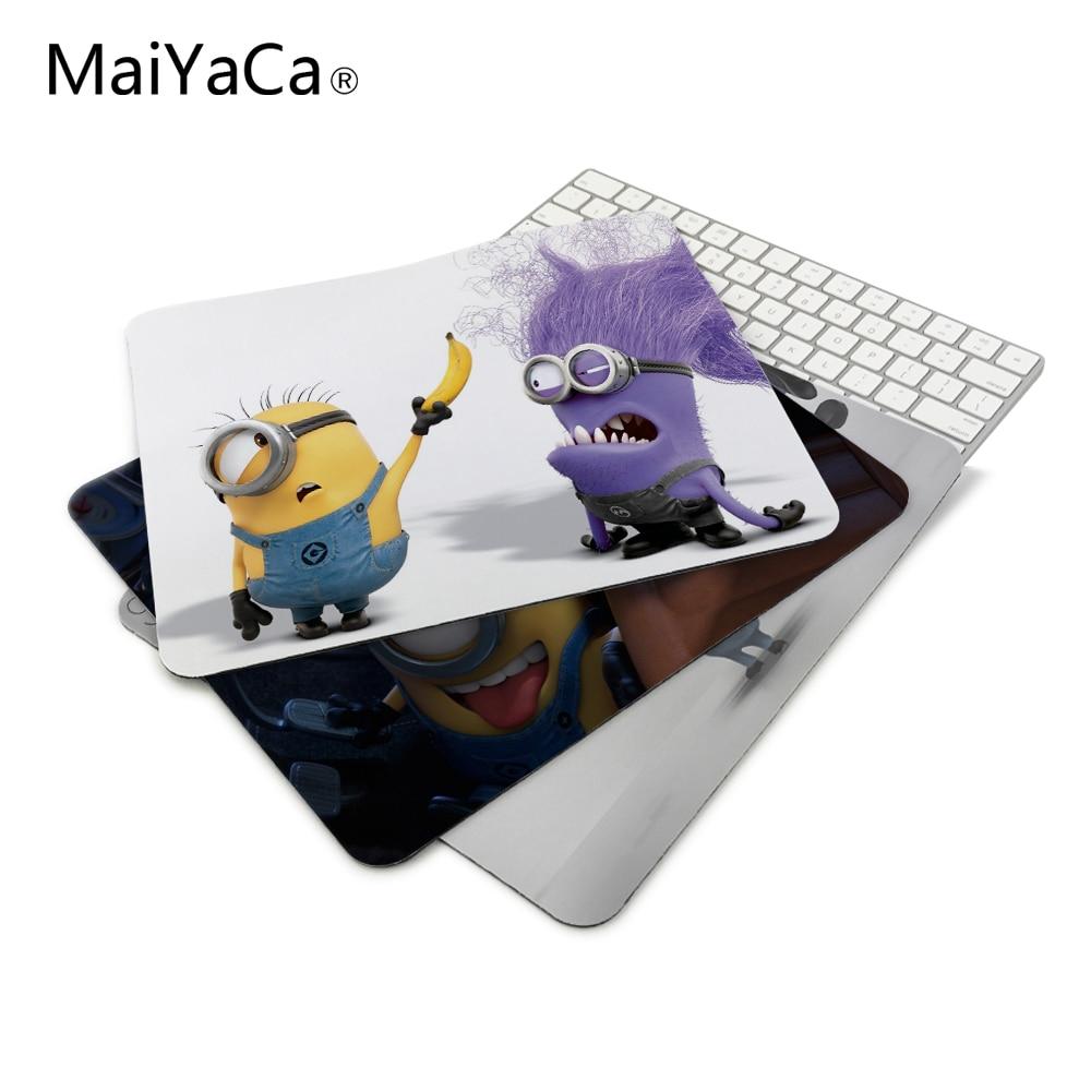 Minions me Mouse de Computador Pad Mousepads Decorar Sua Mesa No-Skid Rubber Pad 220mm X 180mm X 2mm & 250mm x 290mm x 2mm