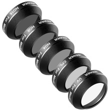 Neewer Multi-coated 5 Pieces Filter Kit for DJI Mavic Pro Drone Quadcopter: UV/CPL/ND4/ND8/ND16 Filter