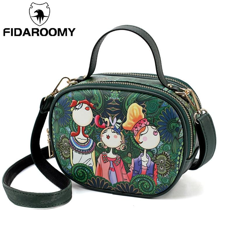 Fidaroomy Crossbody Bags For Women 2019 New Lady Shoulder Bag High Quality Womens Handbags