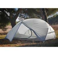FLAME'S CREED 2 personnes 4 saison 15D tente de Camping en plein air ultraléger randonnée sac à dos tentes imperméables revêtement imperméable