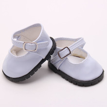 Doll shoes bue sport leisure doll shoes for 18 inch american girl doll for baby gift