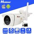 Mini Câmera IP Sem Fio com 2.0 Megapixel CMOS 3.6mm Lente HD corte ir de visão noturna de vigilância de segurança de vídeo cartão micro sd slot