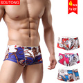 Soutong Male Underwear 4 Pcs/lot Men Underwear Boxers Shorts Soft Modal Underwear Men Underpants Cueca Boxers Calzoncillos