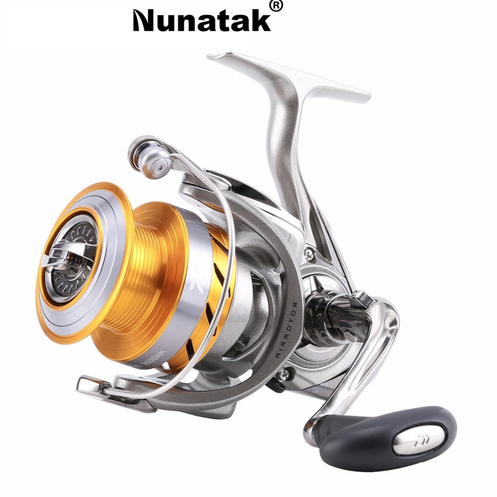 Nunatak 2017 Spinning Fishing Reel REVROS 3000HK / 4000HK Spinning Reel Fishing 7BB 5.6: 1/5. 7: 1 Freshwater Salt Water  Wheel