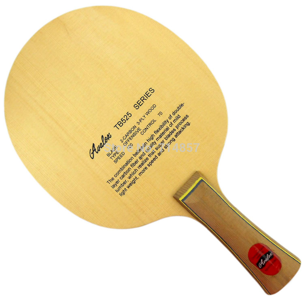 Фото Avalox TB525 (TB-525, TB 525) Shakehand table tennis / pingpong blade. Купить в РФ
