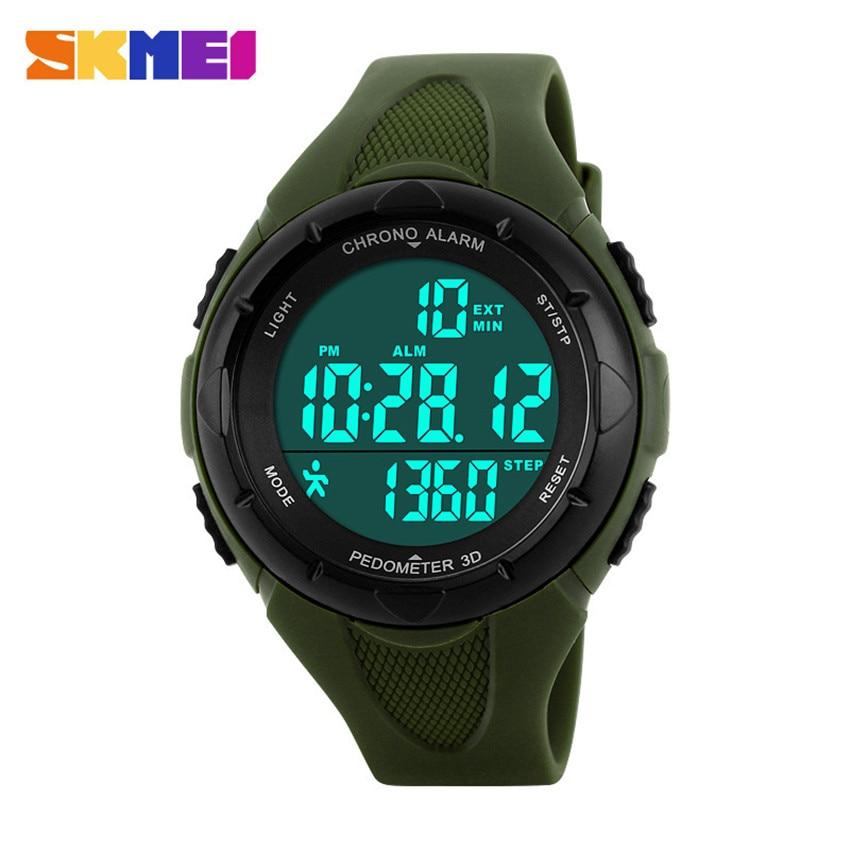 Women Watches Ladies SKMEI 3D Pedometer LED Digital Watch Girls Fashion Casual Clock Outdoor Sports Wristwatches