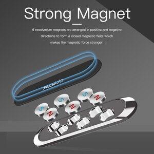 Image 4 - Yesido Mini magnetyczny uchwyt samochodowy na telefon pasek kształt stojak na iPhone Samsung Xiaomi huawei metalowy magnes GPS do montażu na desce rozdzielczej samochodu