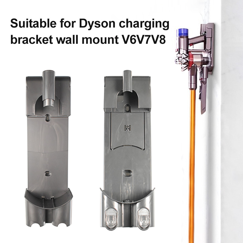Wall-mounted Charging Stand Rack Dust Catcher Durable Accessories for Dyson V7 V8 JDH99Wall-mounted Charging Stand Rack Dust Catcher Durable Accessories for Dyson V7 V8 JDH99