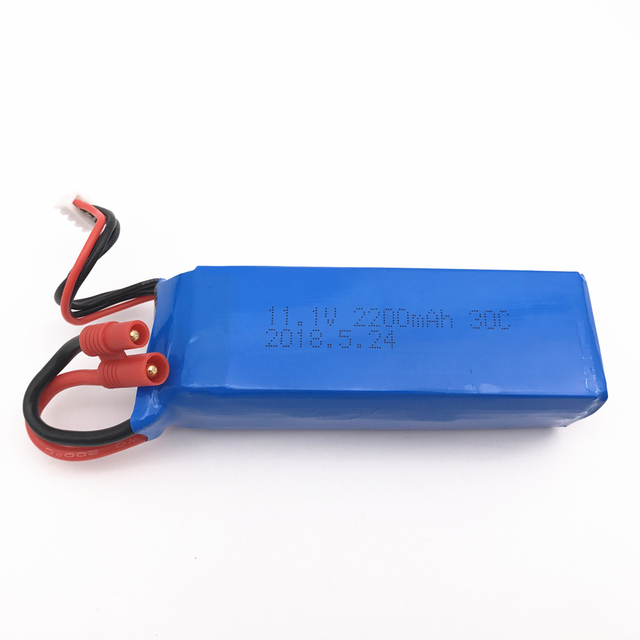 BATTERY FOR BAYANG BAYANGTOYS X16 X21 RC Quadcopter Spare Parts 11.1V 2200mAh Banana Battery For RC Camera Drone Accessories 3