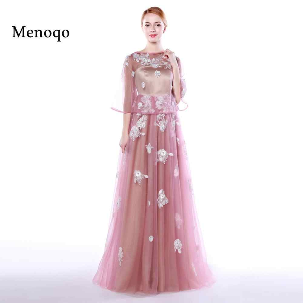 671ebd2124b71 Menoqo 2 in 1 Maternity Evening Dresses Formal Gowns Long Pregnant Women Party  Dresses with jacket