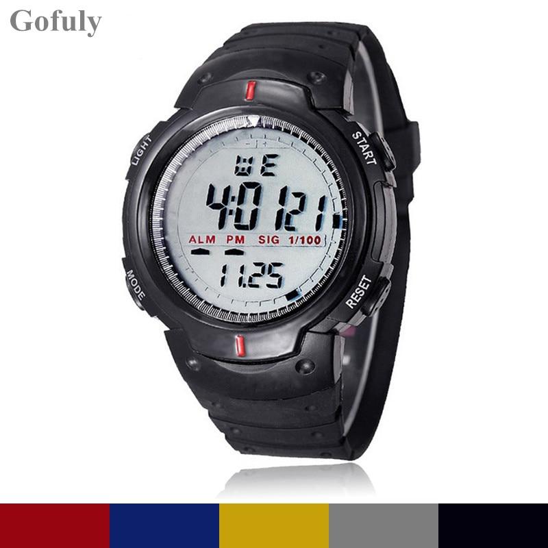 Wrist-Watch Digital Sports Waterproof LED Fashion Outdoor Quartz Mountaineering Hot-Sale