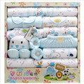 18 piece 100% Cotton Newborn Baby Clothing Gift Sets Autumn / Winter Thick Infant Clothes Baby Girls Boys Clothes