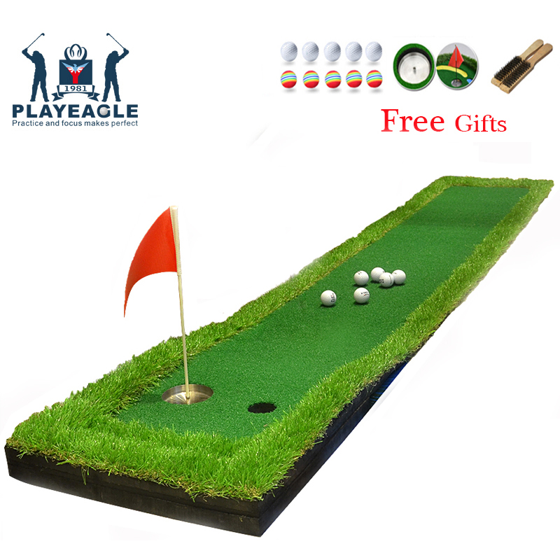 FUNGREEN Golf Putting Green Indoor 50x300CM Golf Putting Mat Outdoor Backyard For All Golfer Protable Golf
