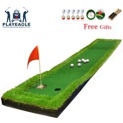 FUNGREEN Golf Putting Green 50x300 CM Putting Mat Quintal Ao Ar Livre Indoor Para Todo O Jogador Protable de Prática de Golfe colocando Tapete
