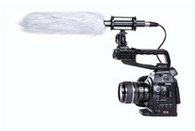 BOYA BY-PVM1000L Broadcast Unidirectional Condenser Interview Microphone Kit for   DSLR Cameras / Camcorder Microphone