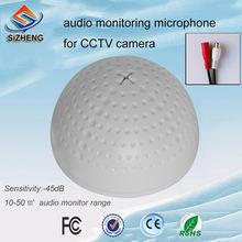 Sizheng cott qd20s ПВХ аудио устройство видеонаблюдения чувствительный