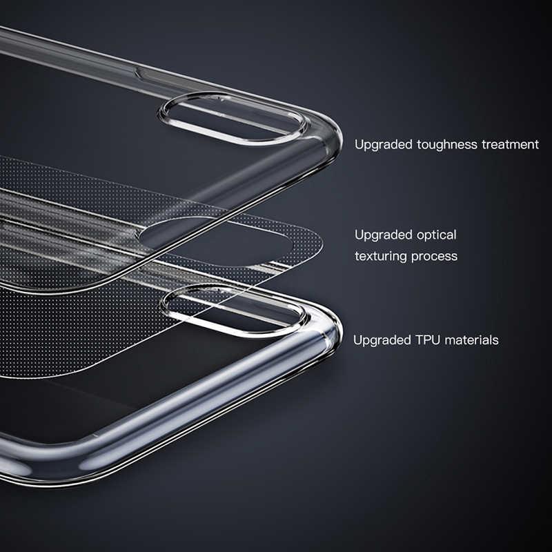 超スリム TPU ケース iphone 5S 、 SE 6 6s iphone 6 プラス 6 s-plus 7 7 プラス 8 プラス XS XR XS 最大透明シリコンクリアケース